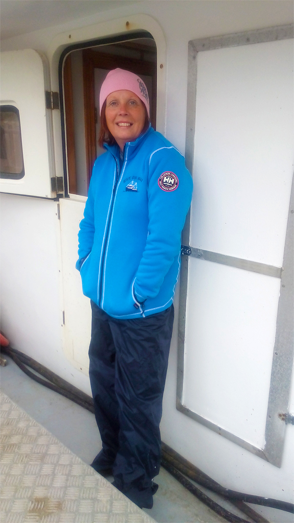 Avon Representative Michelle Jesso on board Wave on Wave